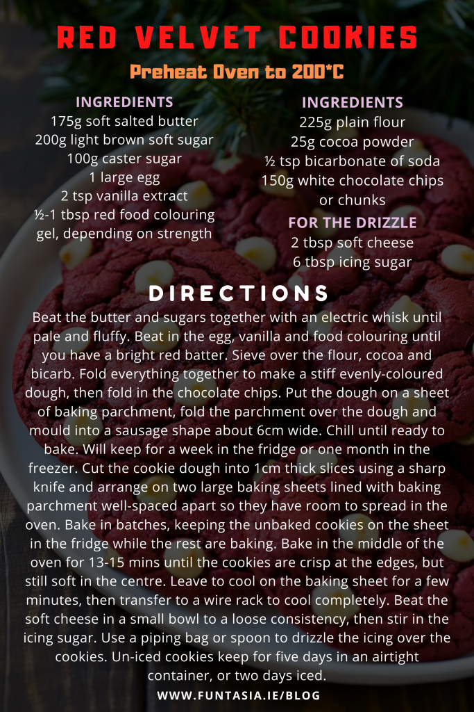 Red Velvet Cookies _ Funtasia Recipe